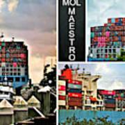 Mol Maestro Collage Art Print