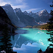 Moraine Lake, Banff National Park Art Print
