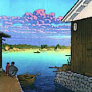 Morning In Yobuko, Hizen - Digital Remastered Edition Art Print