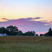 Morning Skies Over Gettysburg Art Print
