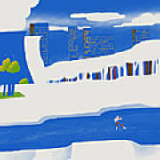 Moscow December Art Print