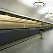 Moscow Metro Art Print