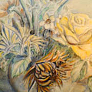 Mother's Day Flower Art Print