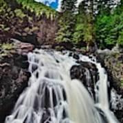 Mount Tremblant Waterfall Art Print