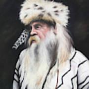 Mountain Man  Art Print