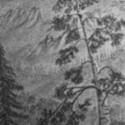 Mountain Outlook Art Print