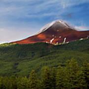Mountain Peak - Jasper National Park Art Print