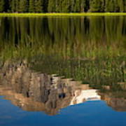 Mountain Reflection In Beirstadt Lake Art Print