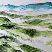 Mountains At Shenandoah 201849 Art Print