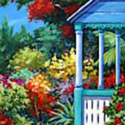 Mr Bodden's Garden Art Print