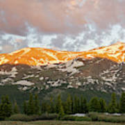 Mt. Lincoln Sunrise Art Print