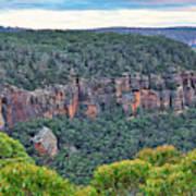 Mt Piddington - Nsw - Australia Art Print
