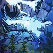 Mt. Shuksan, North Cascades National Park, Whatcom County, Wa Art Print