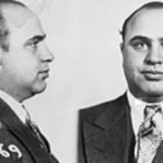 Mugshot Of Gangster Al Capone Art Print