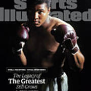 Muhammad Ali Still Fighting, Still Inspiring. The Legacy Of Sports Illustrated Cover Art Print