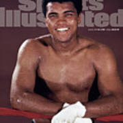 Muhammad Ali The Greatest Sports Illustrated Cover Art Print