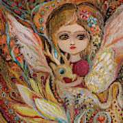 My Little Fairy Selma Art Print
