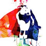 Nacho Watercolor Art Print
