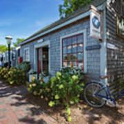 Nantucket Dock Art Print