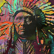 Native American Iv Art Print