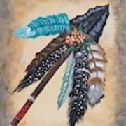 Native American Style  Art Print