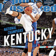 Ncaa Basketball Tournament - Final Four - Championship Sports Illustrated Cover Art Print