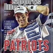 New England Patriots Qb Tom Brady, Super Bowl Xlix Champions Sports Illustrated Cover Art Print
