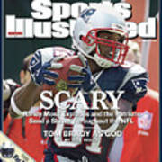New England Patriots Randy Moss Sports Illustrated Cover Art Print