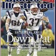 New England Patriots Rodney Harrison And Mike Vrabel, Super Sports Illustrated Cover Art Print