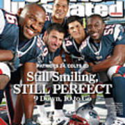New Enlgand Patriots Linebackers Sports Illustrated Cover Art Print