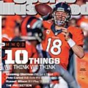 New Jersey Bound Super Bowl Xlviii Preview Issue Sports Illustrated Cover Art Print