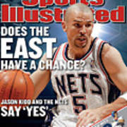 New Jersey Nets Jason Kidd, 2003 Nba Eastern Conference Sports Illustrated Cover Art Print
