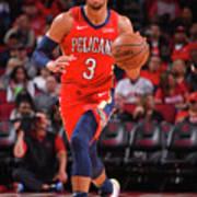 New Orleans Pelicans V Houston Rockets Art Print
