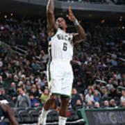 New Orleans Pelicans V Milwaukee Bucks Art Print