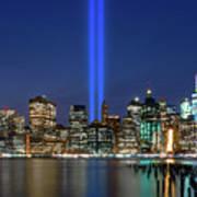New York City 9/11 Commemoration  Art Print