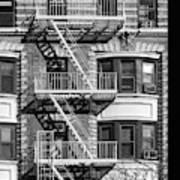 New York City Fire Escapes Art Print
