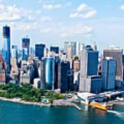 New York City Sky View Art Print