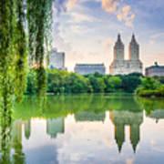 New York City, Usa At The Central Park Art Print