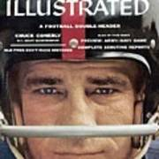 New York Giants Chuck Conerly Sports Illustrated Cover Art Print