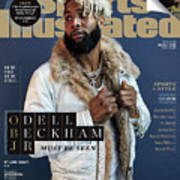 New York Giants Odell Beckham Jr., 2018 Fashionable 50 Issue Sports Illustrated Cover Art Print