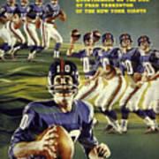 New York Giants Qb Fran Tarkenton Sports Illustrated Cover Art Print