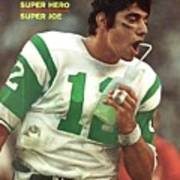 New York Jets Qb Joe Namath, Super Bowl IIi Sports Illustrated Cover Art Print