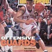 New York Knicks John Starks, 1994 Nba Eastern Conference Sports Illustrated Cover Art Print