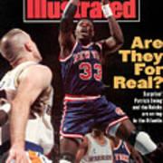 New York Knicks Patrick Ewing... Sports Illustrated Cover Art Print