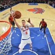 New York Knicks V Atlanta Hawks Art Print