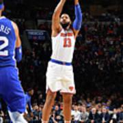 New York Knicks V Philadelphia 76ers Art Print