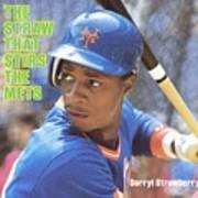 New York Mets Darryl Strawberry Sports Illustrated Cover Art Print