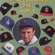 New York Mets Jerry Koosman Sports Illustrated Cover Art Print