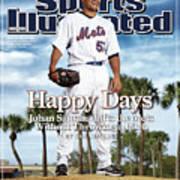 New York Mets Johan Santana Sports Illustrated Cover Art Print