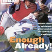 New York Mets John Cangelosi... Sports Illustrated Cover Art Print